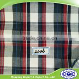 cotton madras check design fabrics for school dress uniform fabric