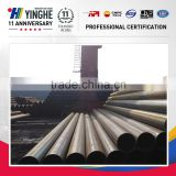 high quality ERW Steel Pipe / erw carbon steel pipe tube / erw steel welded pipe from China