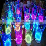 led champagne bucket led ice bucket plastic beer led bucket                                                                         Quality Choice