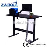 electric height adjustable lifting column table leg