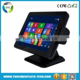 "Stock 15""lcd projected capacitive Desktop True Flat touch monitor"