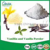 Natural Organic Vanillin and Vanilla Powder