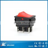 led/4pins/6pins/waterproof/on-on/rocker switch/DPDT/Double pole double throw/ KCD4-202A/16A 250V AC/switch