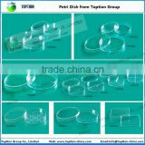 Toption Lab Disposable Sterile Petri Dish 90*15mm