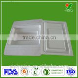2014 Amazon Products Hot Selling Protective Sustainable Biodegradable Recyclable Pulp Paper Trays,Natural Pulp Molded Packaging