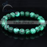 6mm wholesale malachite beads bracelet