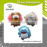 Cartoon exfoliating bath mesh sponge shower ball wash scrubber