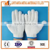 safety working gloves factory wholesale cotton knitted working gloves 7 guage safety cotton knitted working gloves