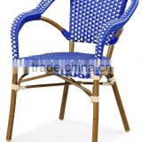 factory wholesale outdoor patio french rattan bamboo look chair                                                                         Quality Choice