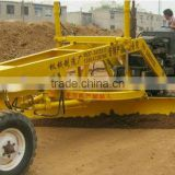 power grader (wheeled tractor front mounted type) land leveller
