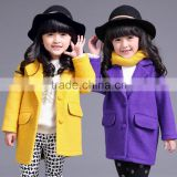 Baby Girls Warm Wool Cotton Jacket Trench Winter Coat Outwear OEM ODM Type Factory Manufacturer Guangzhou