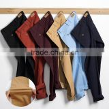 Mens colorful new design chino pant