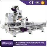 Chinese discount price 3 axis cnc router machinery price , wood cnc cutting engraving machine for furniture
