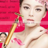 24k Gold beauty bar 24k gold energy bar beauty electric face mask massager Skin Tightening Face Slimming