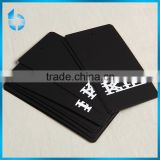 China printing and packaging factory produce black cardboard tag for cotton socks
