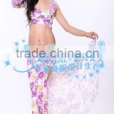 SWEGAL 2013 SGBDT13051 5colors floral lady fashion sexy belly dance modern skirts