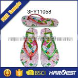 topless girl slipper,kids girl eva injection flip flop slipper