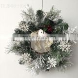 Needle Pine Artificial Christmas Wreath