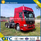China Heavy Duty Sinotruck HOWO 4 x 2 , 6 x 4 , Euro II , 371hp , LHD ( Left hand drive ) tractor Truck Head for sale