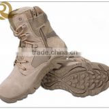 2015 Hot sale tan leather cheap delta force military combat boots