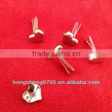 Heart Shaped Abs Studs Nickle Spikes Rivet For Punk Bag Shoe Leathercraft Diy