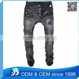 Baggy Jeans Embroidery Pocket Design For Men