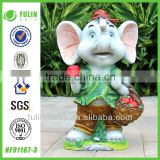 India Figurine For Sale Polyresin Elephant Statue                                                                         Quality Choice