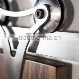 China ECH supplier hot class Triangle steel sliding barn door track