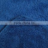 Wholesale blue 80% polyester 20% polyamide car microfiber absorbent towels fleece towels