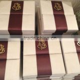 fabric covered wedding invitation boxes, wedding invitation boxes, boxes for wedding invites, silk invitation boxes