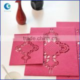 Wholesale die cut eco-friendly hand made felt table pad for home restaurant                                                                         Quality Choice