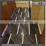 Black Zebra Marble Stone China For Bautifful Marble Staircase