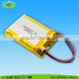3.7V Lipo Battery For Swimming Fish, 1500mAh Recharge Battery For Electric Sprayer