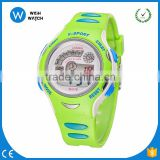 DLW003/ brand children Water Resistant Quartz Movement Digital Watch with Plastic Strap, Light