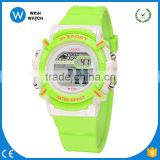 DLW001/ Children watch LED Digital Sports Relojes Mujer Boys girls fashion Kids Cartoon Jelly Waterproof Relogio Feminino