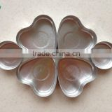 2015 different size aluminum tealight cups