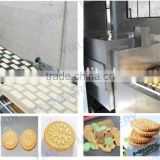 Factory price Shanghai food confectionery professional ce semi automatic tortilla biscuit making machine