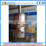 mechanical high precision polishing 5bbl beer fermentation tank, complete set of beer brewing equipment