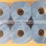 Blue Industry Towel Paper Roll/Blue Hardwound Towel Roll/color paper towel
