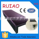 RUIAO best sale folding cloth accordion CNC guide shield