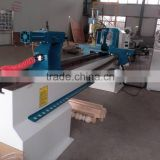 automatic wood turning copy lathe for sale CNC2504SA CNC wood lathe with milling power head