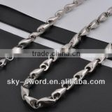 Fashion stainless steel long neck chains for men (VN10002)