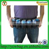 custom beer Can belt and Bottle Belt 6 Pack holster