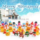 child Christmas gift Cute baby toy Eco-friendly PVC weighted floating rubber duck