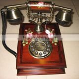 Retro Style Wooden Telephone 50 pair telephone cable