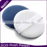 New Round air cushion make up puff with fabric belt