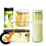 China New crop canned asparagus Canned vegetables Canned White Whole Asparagus