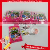 Mix Fruit Popping Candy with 3D Puzzle Card
