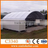 Portable Barn Plant Lorry Wagon Workshop Shelter Container Cover Canopy Roof