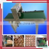Eggs spurt the code machine/bottle date code printing machine/hot stamping date coding machine